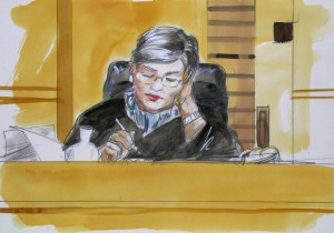 Magistrate Jackie Millendge - Brimble inquiry/ image courtesy of Vincent de Gouw
