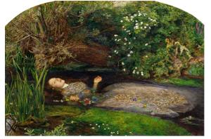 Figure i: Ophelia, John Everett Millais, 1851–1852