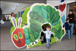 Caterpillar, Eric Carle Museum by flickr user: Masstravel (CC BY-ND 2.0)