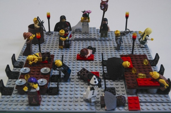 The red wedding, lego style. https://www.waterstones.com/blog/lego-literature