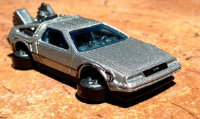 Hot Wheels 1015 - Hover mode DeLorean (Back to the Future)